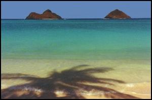 Lanikai Beach Mokolua Islands