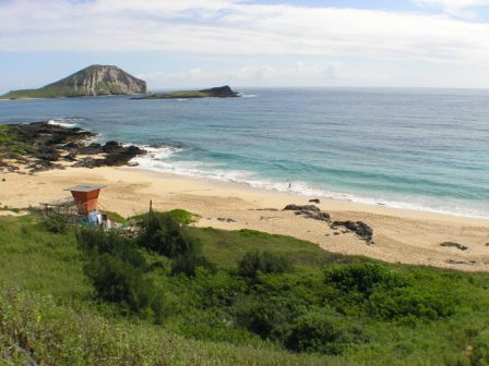 Makapuu Beach - Rabbit Island