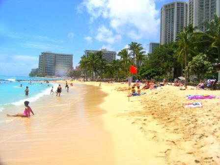 waikiki beach in honolulu oahu hawaii waikiki beach 448x336